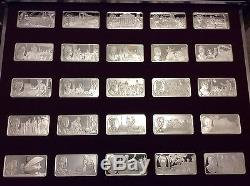 100 Greatest Americans Silver Franklin Mint Masterpieces