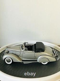 124 Franklin Mint 1936 Limited 25th Anniversary Edition Hudson Eight