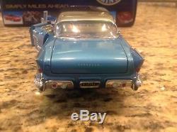 124 Scale Franklin Mint 1957 Cadillac Eldrorado Brougham Limited Edition MINT
