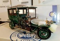 1907 Rolls Royce Open Drive Limo Silver Ghost Franklin Mint 124