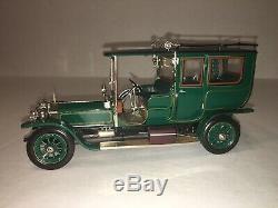 1907 Rolls-Royce Silver Ghost Limousine 1/24 Scale Franklin Mint