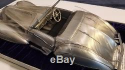 1937 Delahaye Silver- Pewter Franklin Mint 1/12 New and Untouched Condition