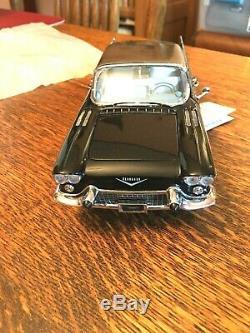 1957 Cadillac Eldorado Diecast Model Car 124 withoriginal box from Franklin Mint