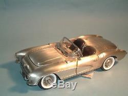 1957 Corvette Pewter Fuelie Franklin Mint 112 UNOPENED BOX LE 298/1000