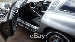 1965 CORVETTE. 65 FIBERGLASS STINGRAY FRANKLIN MINT LE #188/ 1965 with BOX