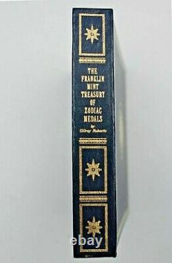1970 FRANKLIN MINT TREASURY OF ZODIAC MEDALS STERLING SILVER SET (12) 10 Oz