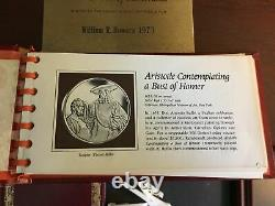 1972 Franklin Mint's Sterling Silver medals, series The Genius of Rembrandt