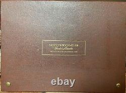 1973 Norman Rockwell Fondest Memories 10x. 925 Silver Bars 1st Edition Proof Set