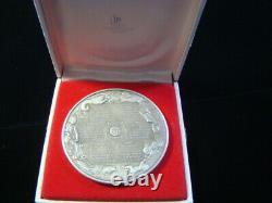 1974 Franklin Mint Calendar Medal 10.3 Oz. Sterling Silver WithCase