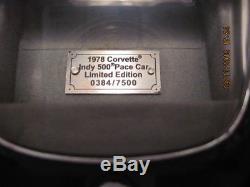 1978 Franklin Mint Corvette 124 Diecast Car