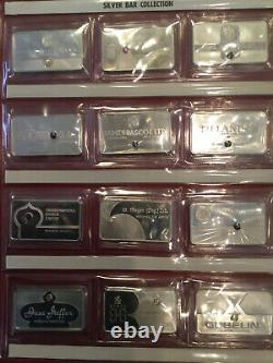 1978 Gem Sterling Silver Ingots From Franklin Mint Set (29 of 30), witho Case