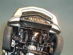 1982 Corvette Silver Lecollectors Edition Franklin Mint 124 Diecast Dply & Box