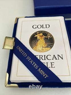 1986 American Eagle $50 1oz Gold Proof Coin