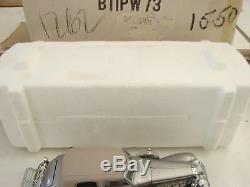 1989 Franklin Mint 124 1933 Duesenberg 20 Grand SJ Silver diecast Metal car