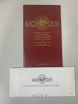 1991 Franklin Mint MONOPOLY Game Pieces (Gold & Silver Plated) Collector Edition