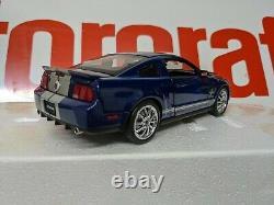 1/24 Franklin Mint 2008 Ford Mustang GT500 Blue Silver KR BNIB BRAND NEW