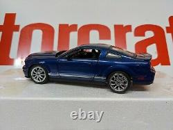 1/24 Franklin Mint 2008 Ford Mustang GT500 Blue Silver KR all parts and pieces