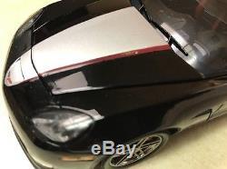 1/24 Franklin Mint Black Silver 2008 Corvette GCA Corvette Z06 B11E844 #277