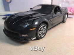 1/24 Franklin Mint Cyber Grey Gray 2009 Corvette ZR1 S11G355 #146 of 500