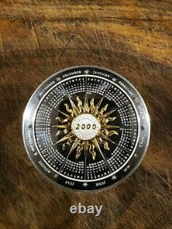 2000 Franklin Mint Annual Calendar/ Art Medal