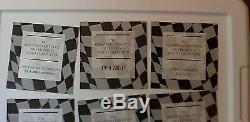 2001-2 Silver Corvette Collection 1953- 72 Proof Silver Bars FRANKLIN MINT PAPER