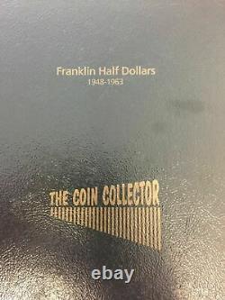 35pc 1948-1963 FRANKLIN HALF DOLLAR CHOICE / GEM BU SET in ARCHIVAL ALBUM