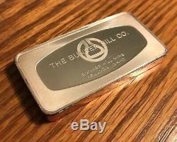 4.17 oz. BUNKER HILL, Bunker Hill Mine, IDAHO. 1973.999 Silver Bar. RARE