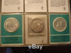 51 Solid Sterling Silver Franklin Mint Private Issue 1st Edition proof coin