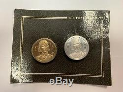 9 Franklin Mint Lady Vivien Game Coins Camelot And King Arthur Stories