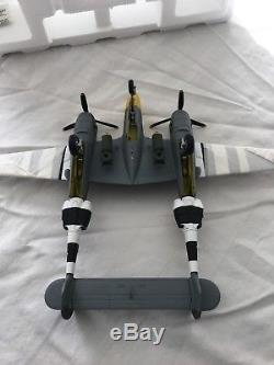 Armour Collection (Franklin Mint) Diecast Plane P38 Lightning 148 Scale