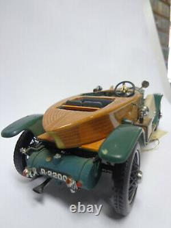 Auto Modell Franklin Mint 1914 Rolls Royce Silver Ghost Holzkarosserie11242260