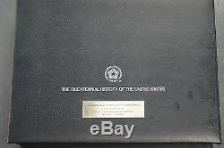 Bicentennial History of the United States 100 Gem Proof Sterling Silver Medals