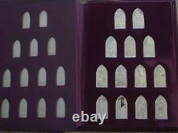 Books of the Protestant Bible by Franklin Mint, sterling silver