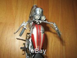 Cl/franklin Mint 1969 Triumph Bonneville 110 Scale Diecast Motorcycle/bike