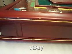 Collector's Edition MONOPOLY 1991 Franklin Mint Gold / Silver Plated Pieces