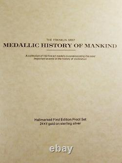 Complete collection-Medallic History of Mankind. 1974