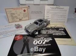 DANBURY MINT 1964 JAMES BOND ASTON MARTIN 007 DB5 BNIB WithALL DOCUMENTATION
