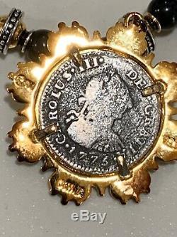 EL CAZADOR SHIPWRECK NECKLACE+CERTIFICATE Franklin Mint