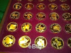 Estate Governors' Edition Franklin Mint States of the Union Series Silver Medals
