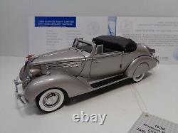 FRANKLIN MINT 1936 HUDSON EIGHT LE #1055 of 2500 25th ANN ED WithDOCS USED READ ME