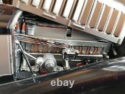 FRANKLIN MINT 1/16 1931 Bugatti Royale Coupe De Ville Dark navy/Silver Minicar