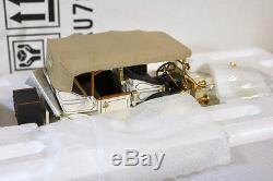 FRANKLIN MINT B11RU78 1911 ROLLS ROYCE SILVER GHOST TOURER MINT BOXED ni