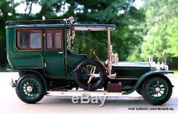 Franklin Mint 124 1907 Rolls-Royce Silver Ghost Touring Sedan