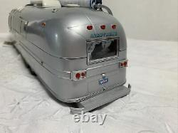 Franklin Mint 124 Airstream Trailer Intl Land Yacht Route Master Silver MINT