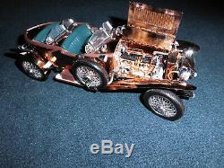 Franklin Mint 124 Precision Models Superb Rolls Royce 1921 Silver Gost unpaint