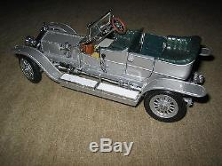 Franklin Mint 124 Rolls-Royce Silver Ghost 1907 + Original Vitrine + Broschüre