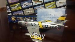 Franklin Mint 148 F-86 Saber USAF 335th TFS Korea die cast plane