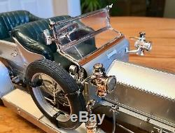 Franklin Mint 1907 Rolls-Royce Silver Ghost, 112 Scale -Rare LARGE Model