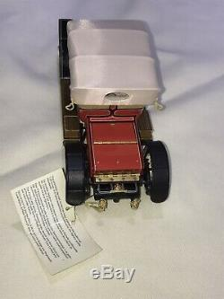 Franklin Mint 1910 Rolls Royce Silver Ghost 124 Die Cast Precision Model