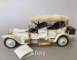 Franklin Mint 1911 Rolls Royce Tourer Silver Ghost 124 Scale Diecast Model